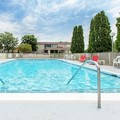 Swimming pool at Ramada Inn Corning Painted Post