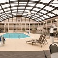 Swimming pool at Ramada Janesville