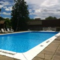 Swimming pool at Ramada Ottawa on the Rideau