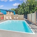 Swimming pool at Ramada Spokane Valley