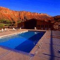 Swimming pool at Red Cliffs Lodge
