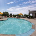 Swimming pool at Red Roof Inn & Suites