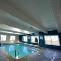 Swimming pool at Red Roof Inn & Suites Muskegon Heights