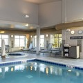 Swimming pool at Residence Inn Midland Marriott