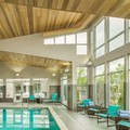 Swimming pool at Residence Inn Portland Hillsboro / Brookwood