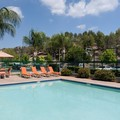 Swimming pool at Residence Inn Santa Clarita