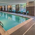Swimming pool at Residence Inn by Marriott Blacksburg University