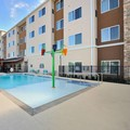 Swimming pool at Residence Inn by Marriott Houston Tomball