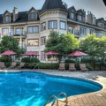 Swimming pool at Residence Inn by Marriott Mont Tremblant Manoir La