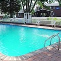 Swimming pool at Rodeway Inn Skytop