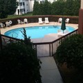 Swimming pool at Rodeway Inn & Suites