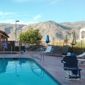Swimming pool at Rodeway Inn & Suites 29 Palms Near Joshua Tree National Park