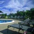 Swimming pool at Roosevelt Inn & Suites