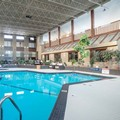 Swimming pool at Sandman Hotel Edmonton West