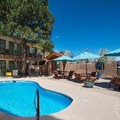 Swimming pool at Santa Fe Sage Inn & Suites