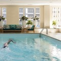 Swimming pool at Seaport Boston Hotel