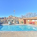 Swimming pool at Sedona Super 8