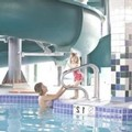 Swimming pool at Service Plus Inn & Suites Grande Prairie