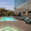 Swimming pool at Sheraton Cerritos Hotel