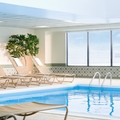 Swimming pool at Sheraton Hartford Hotel at Bradley Airport