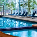 Swimming pool at Sheraton Mahwah Hotel