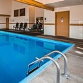 Swimming pool at Silverstone Inn & Suites