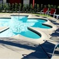 Swimming pool at Skylark Hotel