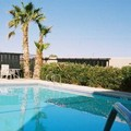 Swimming pool at Sleep Inn Barstow on Historic Route 66