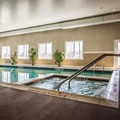 Swimming pool at Sleep Inn & Suites Dunmore