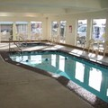 Swimming pool at Sleep Inn & Suites Redmond