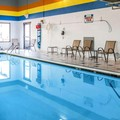 Swimming pool at Sleep Inn of Midland