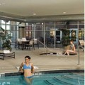 Swimming pool at Springhill Suites Roanoke by Marriott