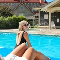 Swimming pool at St. Eugene Golf Resort & Casino
