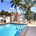Swimming pool at Sunshine Shores Boutique Apartments