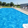Swimming pool at Super 8 Chanute