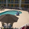 Swimming pool at Super 8 Ellenton