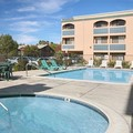 Swimming pool at Super 8 Escondido