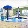 Swimming pool at Super 8 Hotel Lachenaie Terrebonne