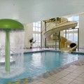 Swimming pool at Super 8 Hotel St. Jerome