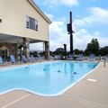 Swimming pool at Super 8 Motel