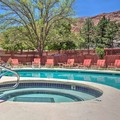 Swimming pool at Super 8 Motel Moab