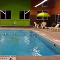 Swimming pool at Super 8 Plattsburgh