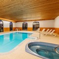 Swimming pool at Super 8 Port Elgin
