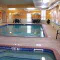 Swimming pool at Super 8 Sault Ste. Marie