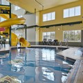 Swimming pool at Super 8 Shawnessy Calgary