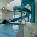 Swimming pool at Super 8 Windsor