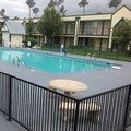 Swimming pool at Super Inn & Suites