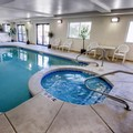 Swimming pool at SureStay Plus Hotel Buffalo