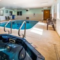 Swimming pool at SureStay Plus Hotel by Best Western Bettendorf