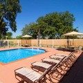 Swimming pool at SureStay Plus Hotel by Best Western San Antonio North